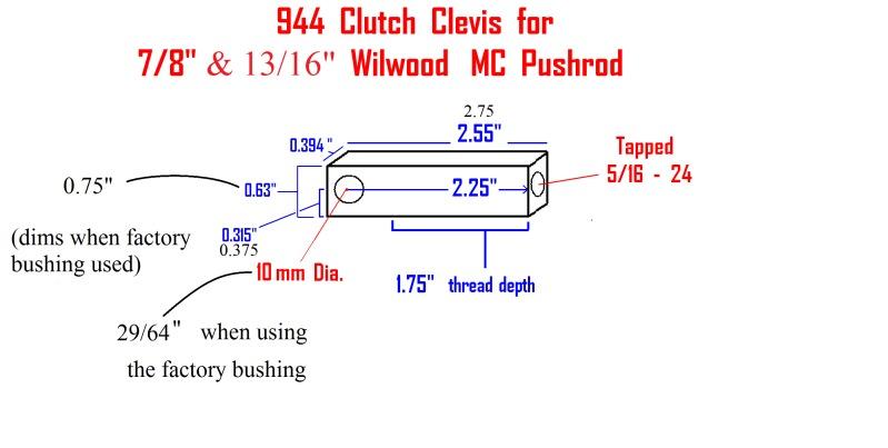 "Wilwood 13/16"" vs Stock? 944wil10"