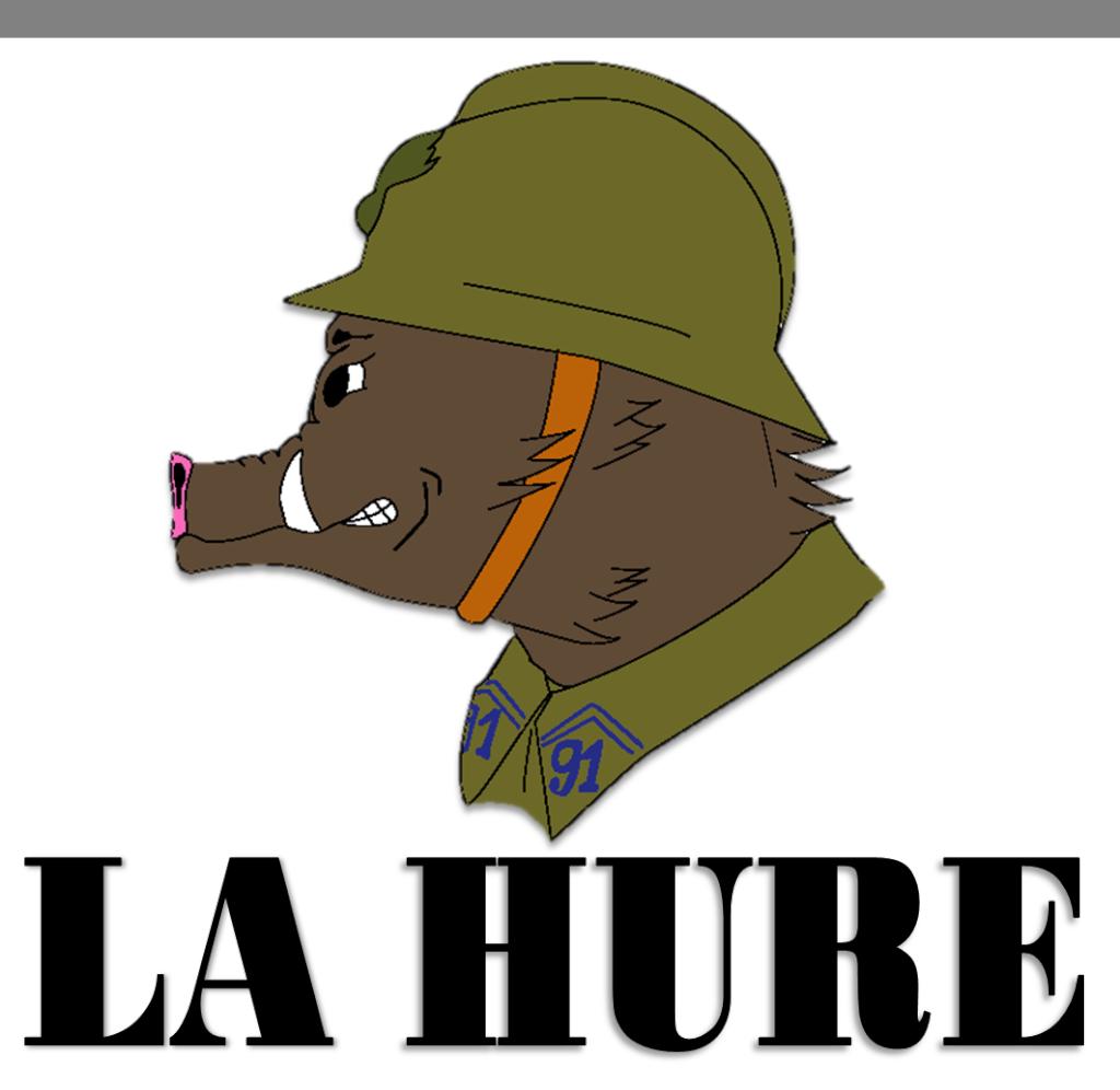 La Hure, Reconstitution Historique Civile et Militaire 1938/40 Logo_c12