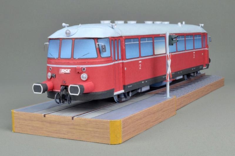 Kallboys - Schienenbus MAN VT23 in 1/43 - kostenloser Download Kartonmodell 00110