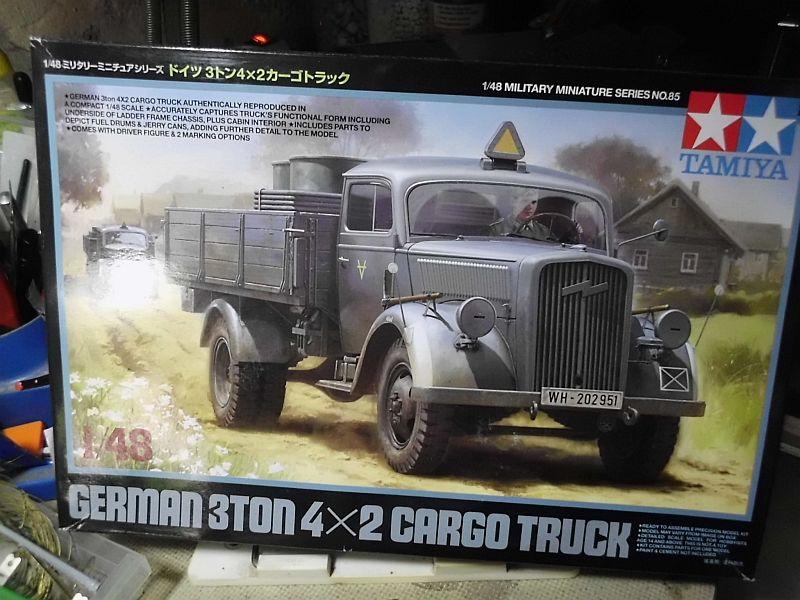 Tamiya German 3ton 4x2 Cargotruck 1/48 - Fertig 019