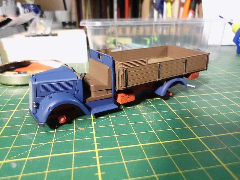 Tamiya German 3ton 4x2 Cargotruck 1/48 - Fertig 1105