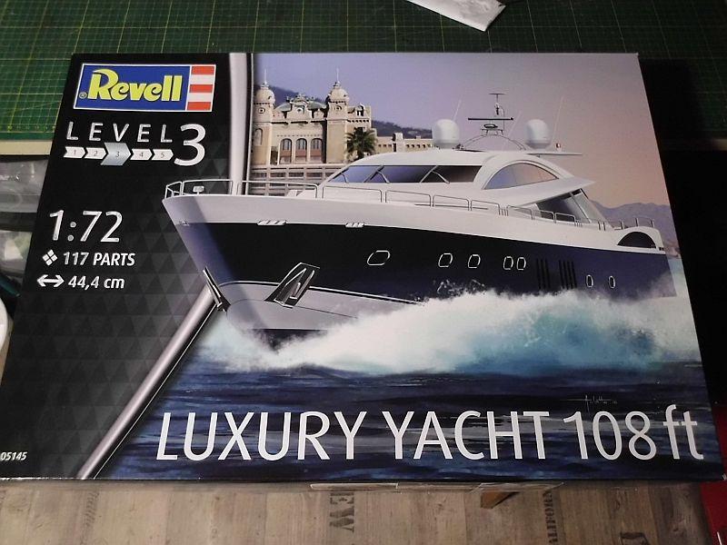 Revell 05145 Luxury Yacht 108ft Plastikbausatz in 1/72 - Baubericht 1150