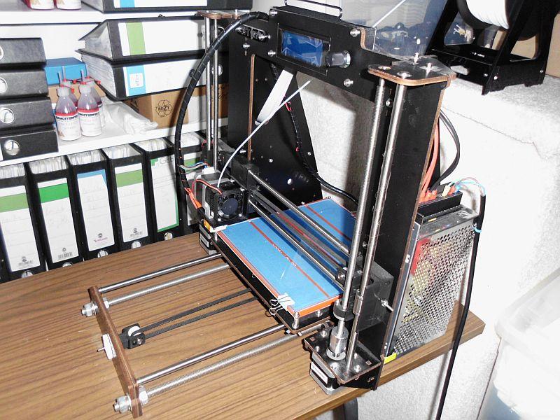 Das war mein Einstieg: 3D-Drucker als China-Bausatz 1158