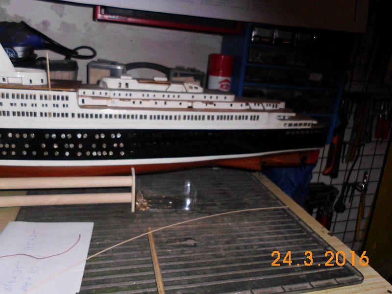 TS Bremen V - Restaurationsbericht zu einem alten Modellschiff in 1/200 - Seite 2 116