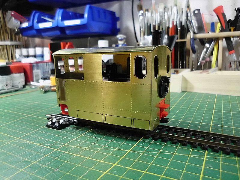 Kastendampflok / Tramwaylok in 1/45 Spur 0e von 0Scale Hobbyshop - Baubericht 1212