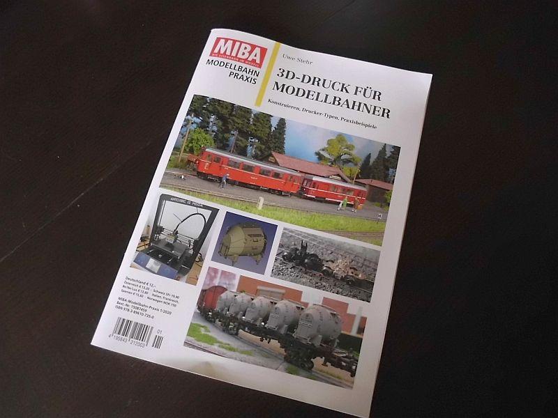 Literatur: MIBA Modellbahn-Praxis 3D-Druck für Modellbahner 1255