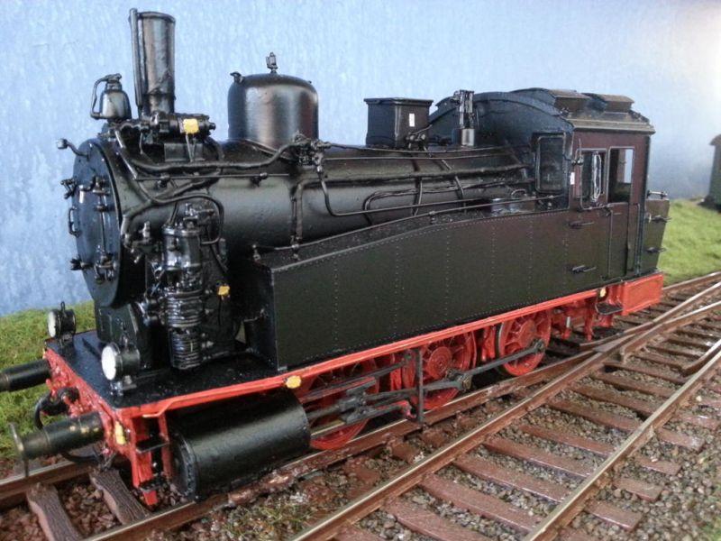 Sächsische VT  BR 89 Spur 0 131