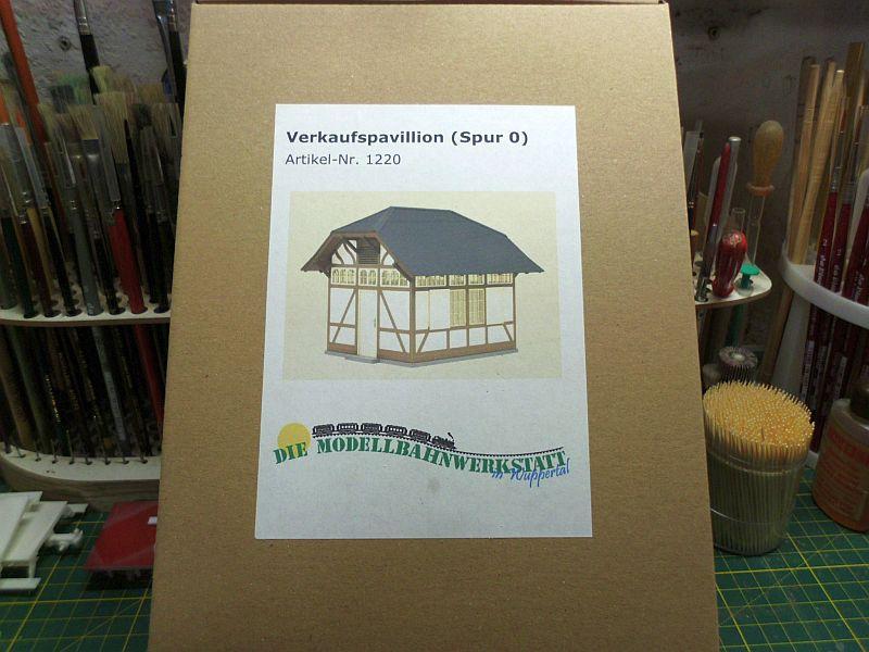 te-miniatur 1220 - Verkaufspavillon - Lasercut-Bausatz in 1/45 - Baubericht 1321