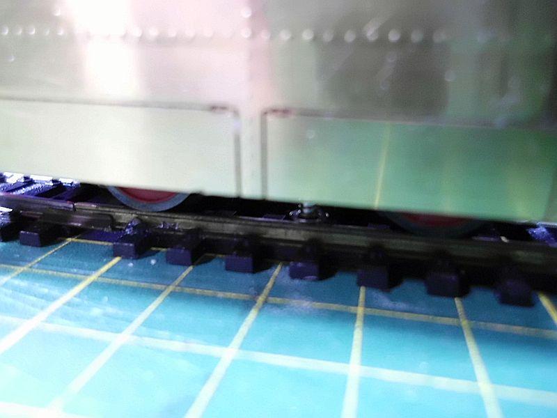 Kastendampflok / Tramwaylok in 1/45 Spur 0e von 0Scale Hobbyshop - Baubericht 1510