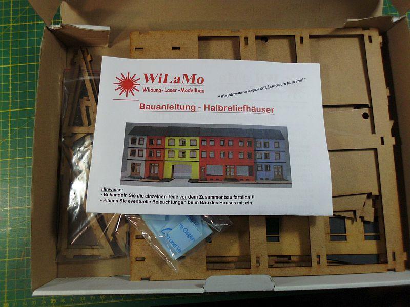 Wilamo - Häuserkulissen 1/45 kpl Strassenzeile - Baubericht - Seite 2 2103