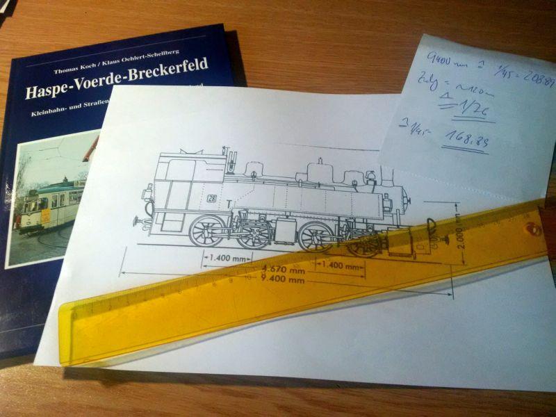 """""""Schrottlok"""" und SchienenLKW - Standmodelle in 1/45 zur BW-Deko 2160"""