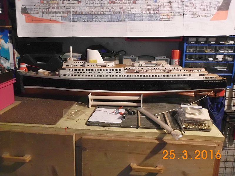 TS Bremen V - Restaurationsbericht zu einem alten Modellschiff in 1/200 - Seite 2 218