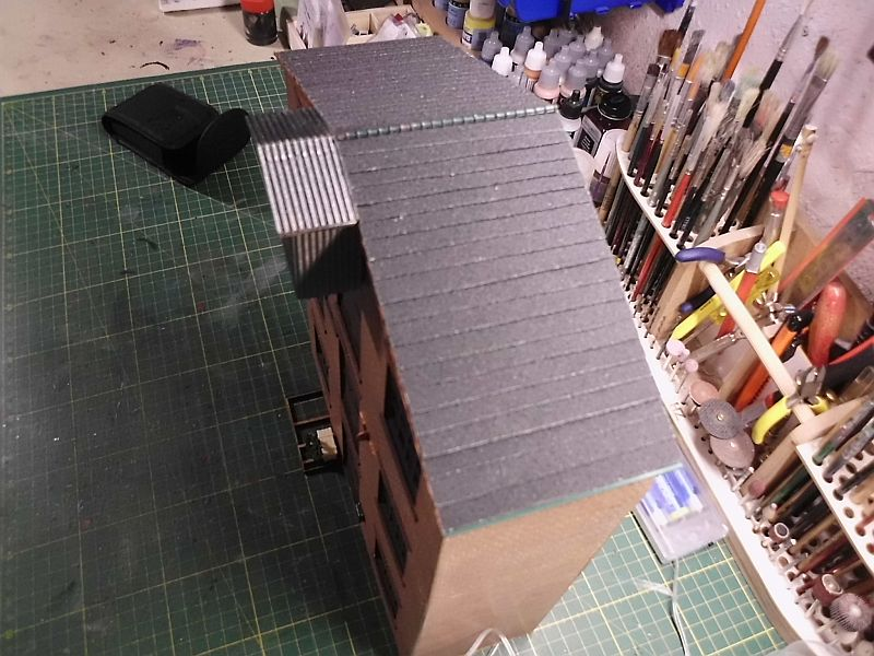 FPM - Models - Lagerhallenkulisse - Lasercut-Bausatz in 1/45 2222
