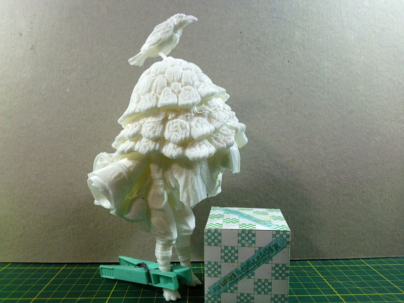 The Merchant - 3D-Druck-Figuren-Bausatz aus freier Vorlage - Baubericht 264