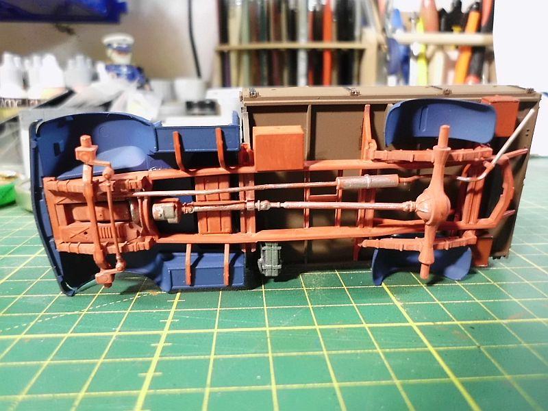 Tamiya German 3ton 4x2 Cargotruck 1/48 - Fertig 293