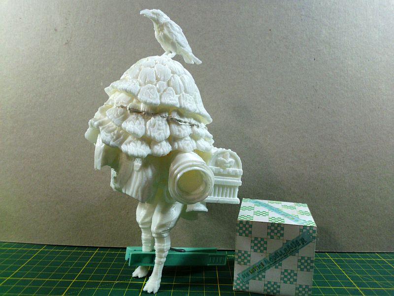 The Merchant - 3D-Druck-Figuren-Bausatz aus freier Vorlage - Baubericht 350