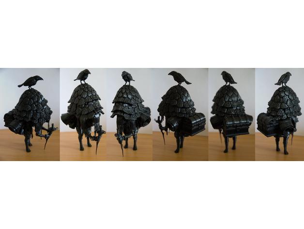 The Merchant - 3D-Druck-Figuren-Bausatz aus freier Vorlage - Baubericht 351