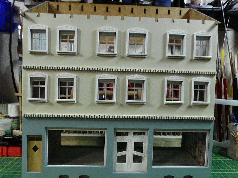 Wilamo - Häuserkulissen 1/45 kpl Strassenzeile - Baubericht - Seite 3 379