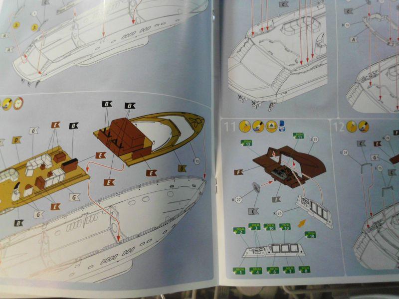 Revell 05145 Luxury Yacht 108ft Plastikbausatz in 1/72 - Baubericht 388