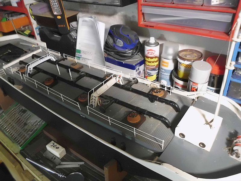 TMS Frederike - Restaurierung eines RC-Binnen-Tankschiffes  - Seite 3 518