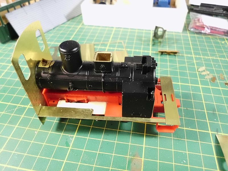Kastendampflok / Tramwaylok in 1/45 Spur 0e von 0Scale Hobbyshop - Baubericht 539