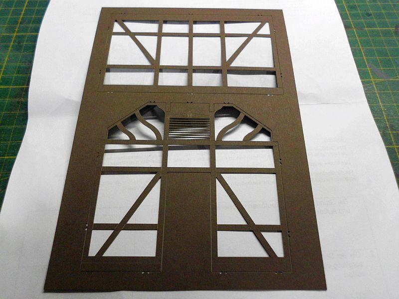 te-miniatur 1220 - Verkaufspavillon - Lasercut-Bausatz in 1/45 - Baubericht 582