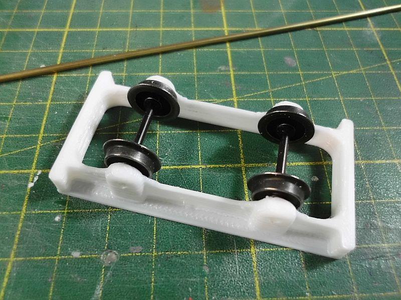 Kleiner Eisenbahnkran im 3D - Druck, 0n30, ein Versuch der Machbarkeit 5a11
