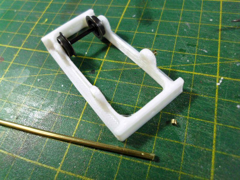 Kleiner Eisenbahnkran im 3D - Druck, 0n30, ein Versuch der Machbarkeit 5aa10