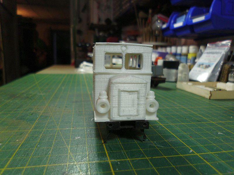 Kleiner Schienenbus im 3D Druck, 0n30 - Fertig 648