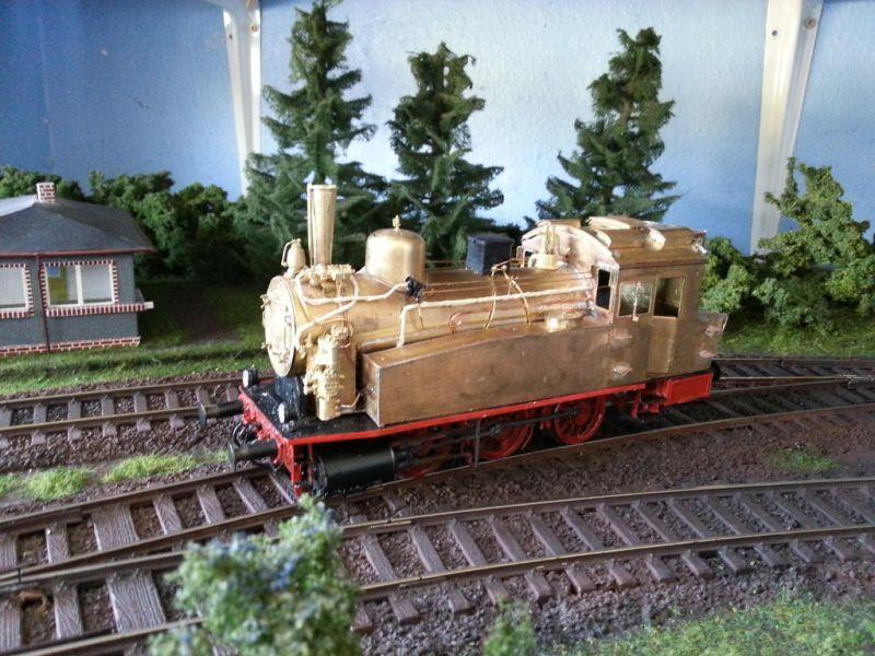 Sächsische VT  BR 89 Spur 0 715
