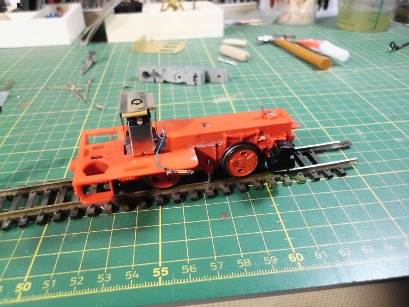 Kastendampflok / Tramwaylok in 1/45 Spur 0e von 0Scale Hobbyshop - Baubericht 725