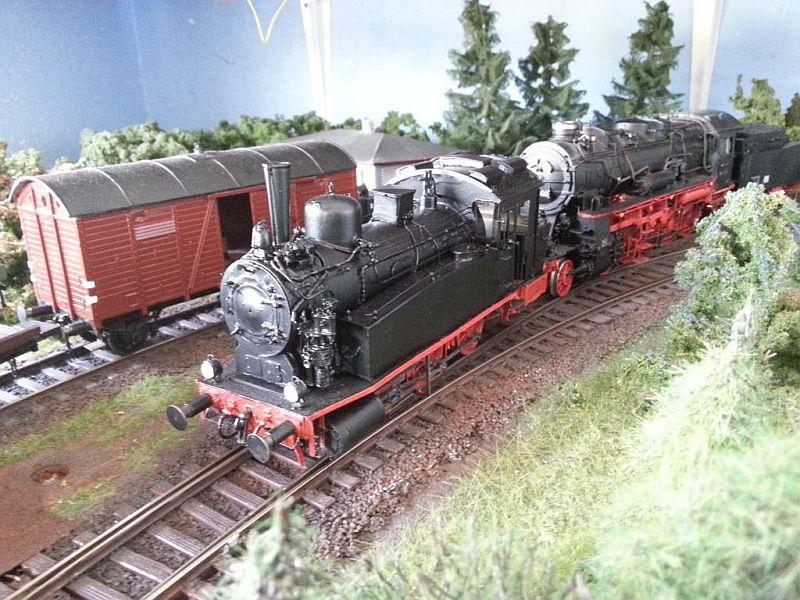 Sächsische VT  BR 89 Spur 0 813