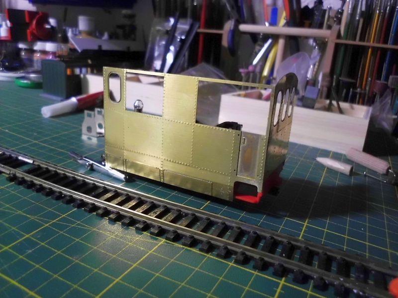 Kastendampflok / Tramwaylok in 1/45 Spur 0e von 0Scale Hobbyshop - Baubericht 817