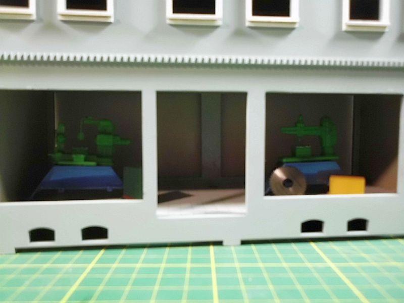 Wilamo - Häuserkulissen 1/45 kpl Strassenzeile - Baubericht 822