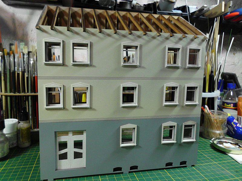 Wilamo - Häuserkulissen 1/45 kpl Strassenzeile - Baubericht - Seite 2 823