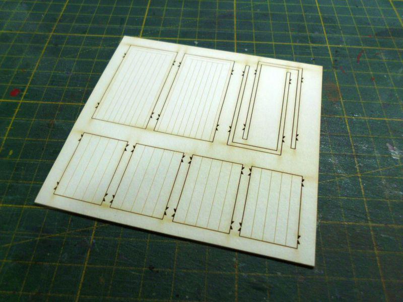 te-miniatur 1220 - Verkaufspavillon - Lasercut-Bausatz in 1/45 - Baubericht 838