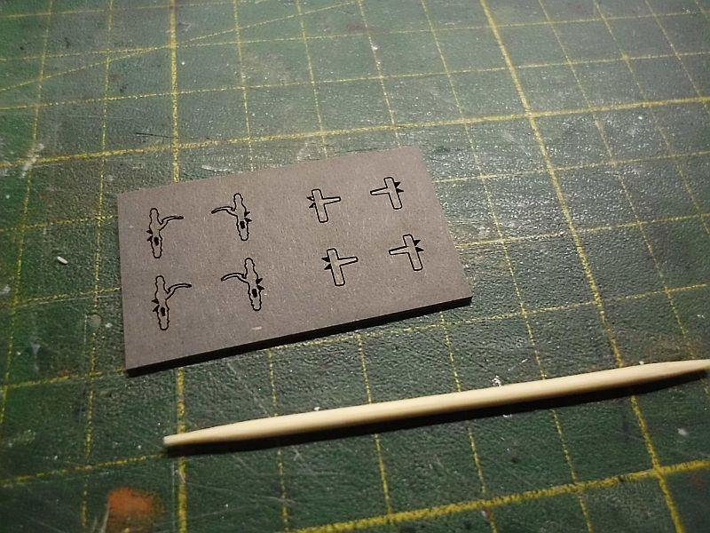 te-miniatur 1220 - Verkaufspavillon - Lasercut-Bausatz in 1/45 - Baubericht 930