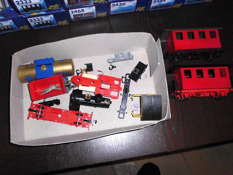 Kastendampflok / Tramwaylok in 1/45 Spur 0e von 0Scale Hobbyshop - Baubericht A11