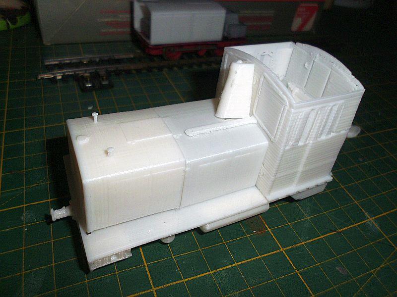 Diesellok ähnl. Hohenlimburger Kleinbahn - 3D-Druck in 1/45 Dsci0523