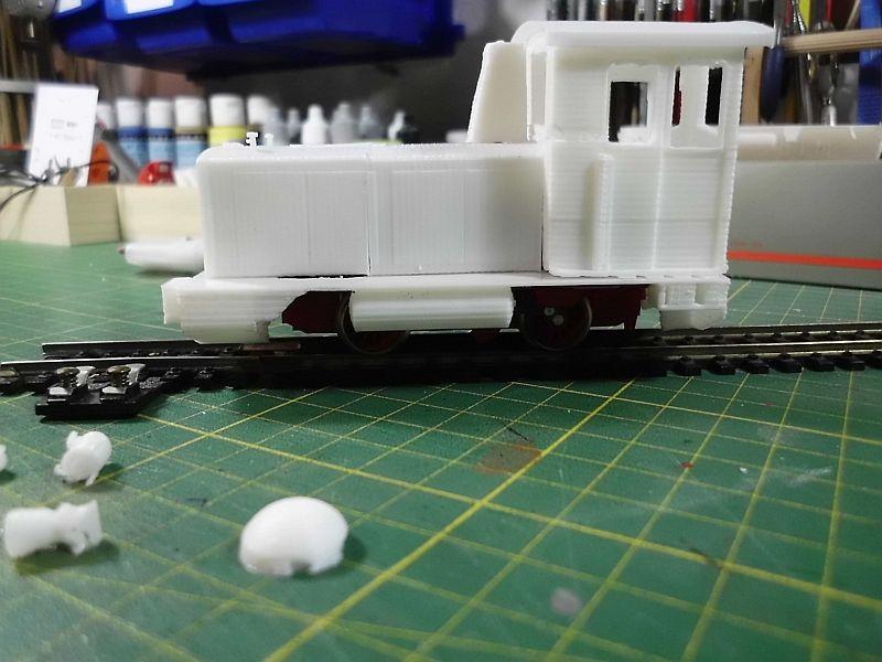 Diesellok ähnl. Hohenlimburger Kleinbahn - 3D-Druck in 1/45 Dsci0530