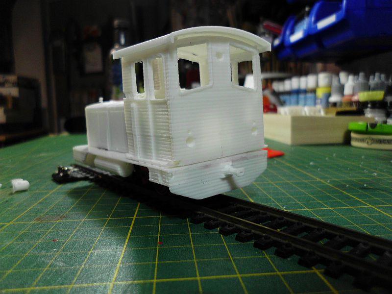 Diesellok ähnl. Hohenlimburger Kleinbahn - 3D-Druck in 1/45 Dsci0531