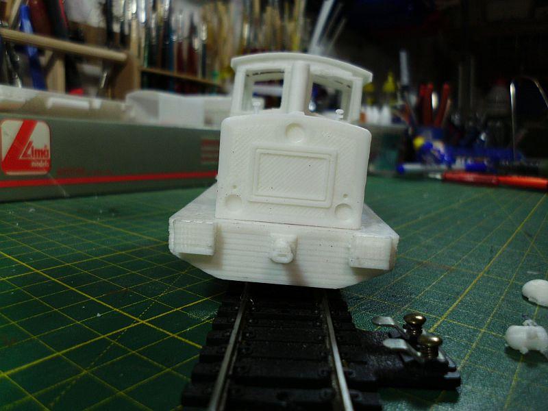 Diesellok ähnl. Hohenlimburger Kleinbahn - 3D-Druck in 1/45 Dsci0532