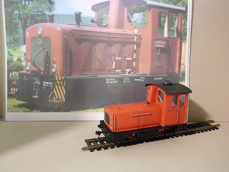 Diesellok ähnl. Hohenlimburger Kleinbahn - 3D-Druck in 1/45 Dsci0540