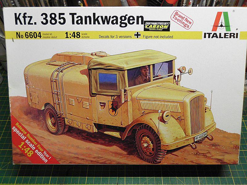 Kfz 385 Tankwagen / Italeri, 1:48 Dsci0722