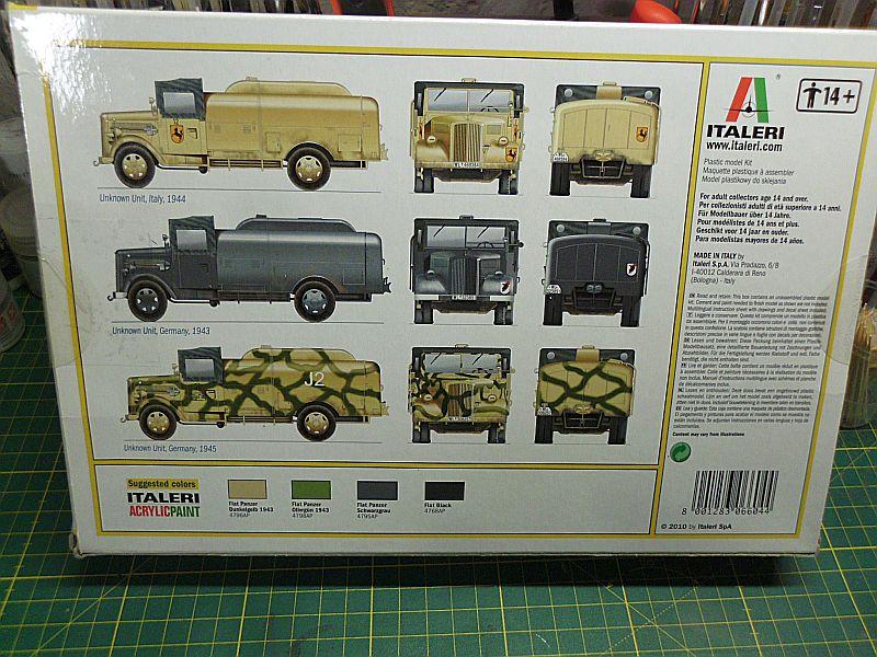 Kfz 385 Tankwagen / Italeri, 1:48 Dsci0723