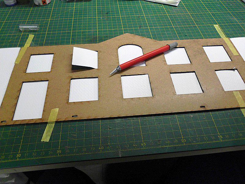 FPM - Models - Fabrikhallenkulisse - Lasercut-Bausatz in 1/45 Dsci0756