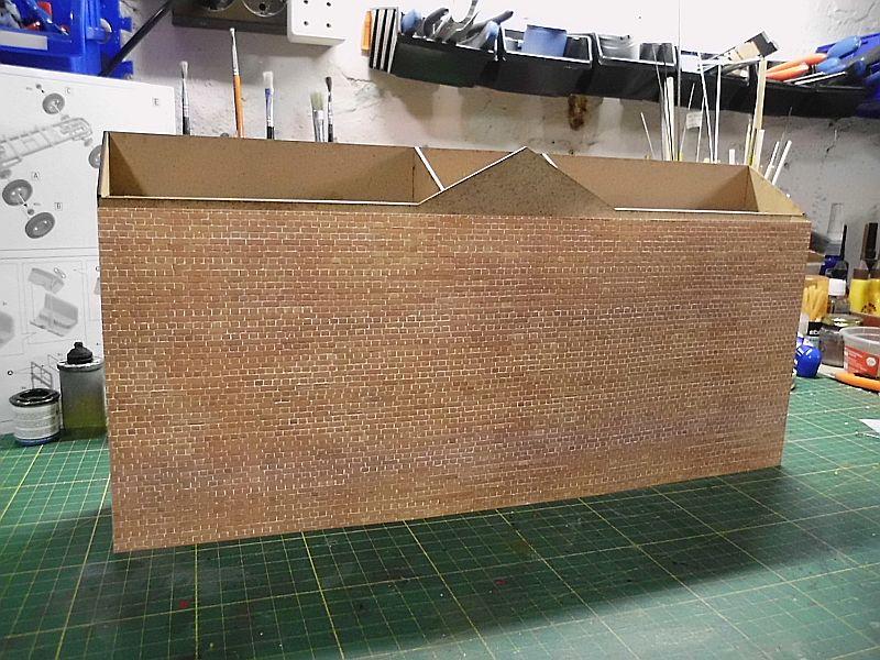 FPM - Models - Fabrikhallenkulisse - Lasercut-Bausatz in 1/45 Dsci0757