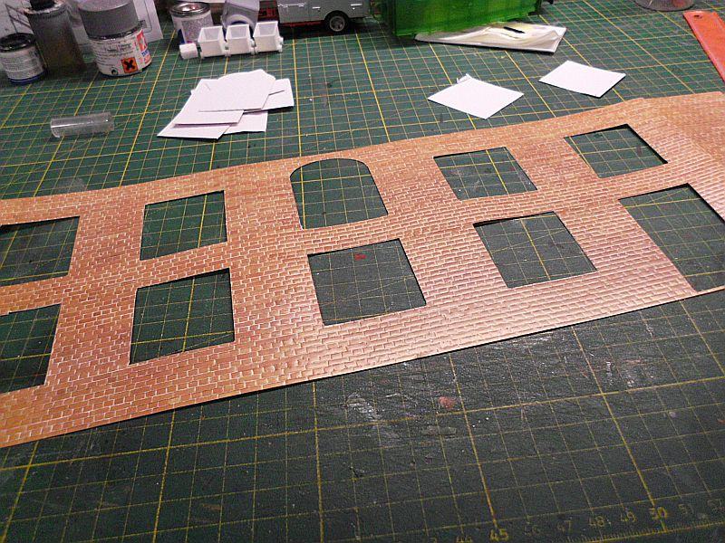 FPM - Models - Fabrikhallenkulisse - Lasercut-Bausatz in 1/45 Dsci0758