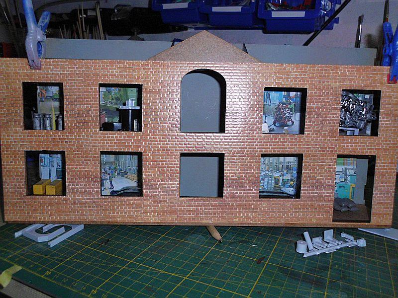 FPM - Models - Fabrikhallenkulisse - Lasercut-Bausatz in 1/45 Dsci0761