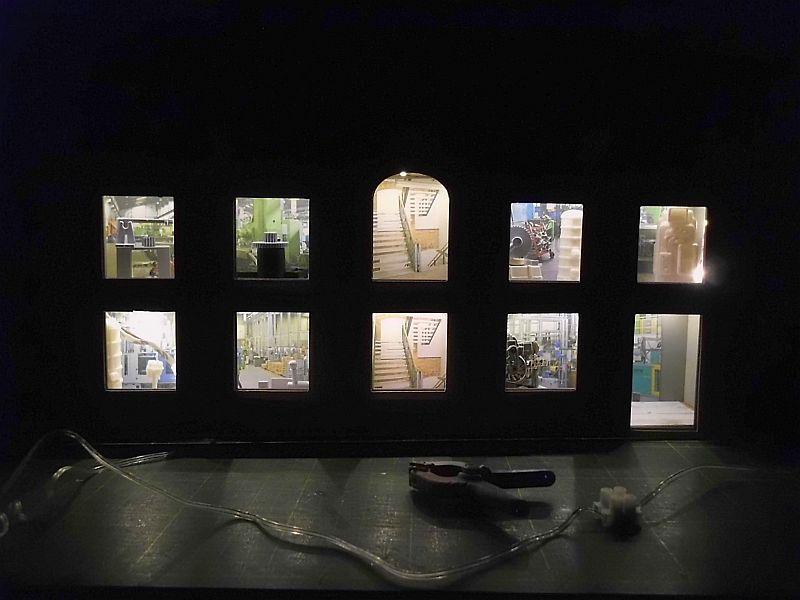 FPM - Models - Fabrikhallenkulisse - Lasercut-Bausatz in 1/45 Dsci0773